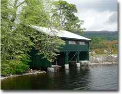 The Boat House Restaurant Over Looking Loch Ness