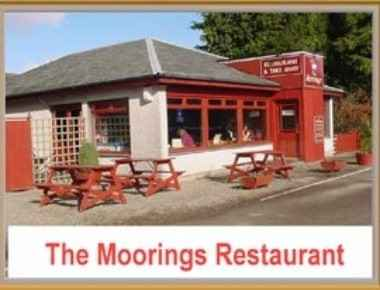 The Moorings Restaurant Overlooking The Caledonian Canal