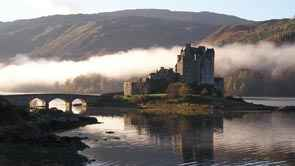 Eilean Donan Castle on the Road to Skye Bridge
