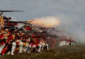 Culloden Battle Field Re-enactment