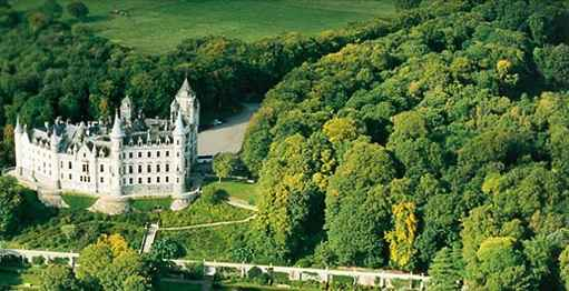 Dunrobin Castle is the most northerly of Scotlands great houses and dates back to the 1300s