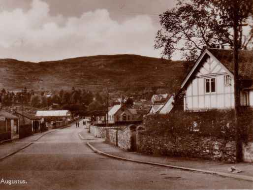 Abbey Cottage from the A82 C1930