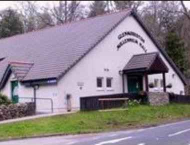 Invermoriston Millennium Village Hall, Car park and toilets