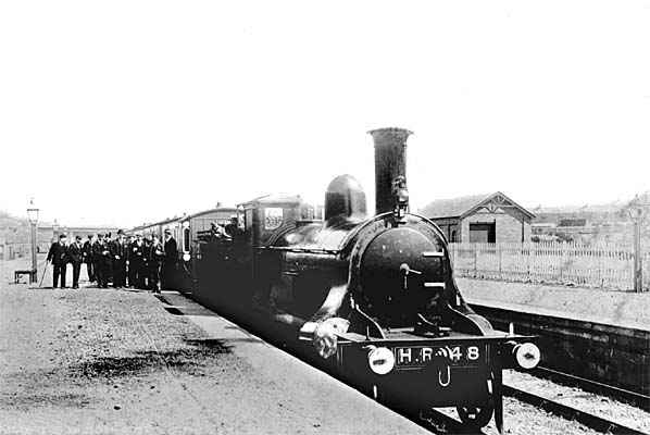 Fort Augustus Station 1905