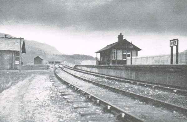 Fort Augustus Pier Station 1905 in use