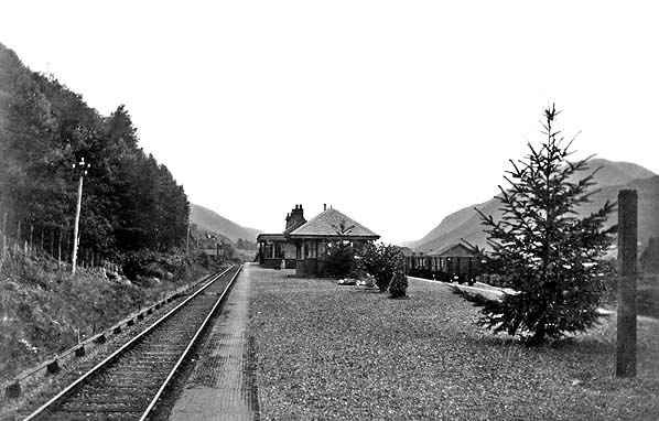 Invergarry Station 1930s