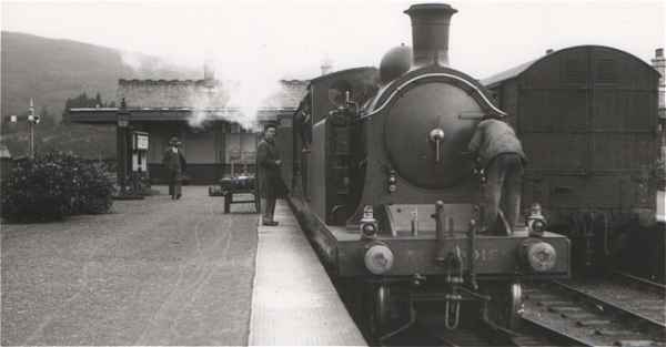Fort Augustus Station 1930s