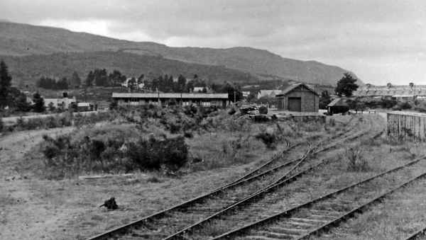 Fort Augustus Station after closure