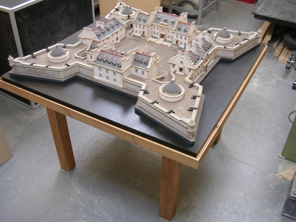 Model of the Fort at Fort Augustus