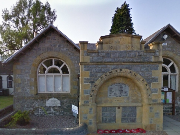 Fort Augustus War Memorial Hall